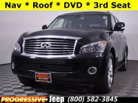 PRE-OWNED 2012 INFINITI QX56 WITH NAVIGATION & 4WD