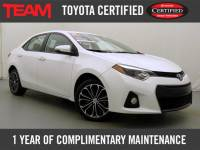 Certified Used 2015 Toyota Corolla S Premium for sale in Glen Mills PA