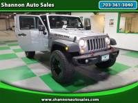 2015 Jeep Wrangler UNLIMITED RUBICON 4WD HARDROCK