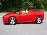 2003 Ferrari 360 Spider 2dr Convertible
