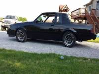 1986 Buick Regal T Type Turbo 2dr Coupe