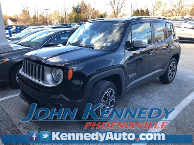 Photo Used 2015 Jeep Renegade Limited SUV I4 MultiAir For Sale Phoenixville, PA