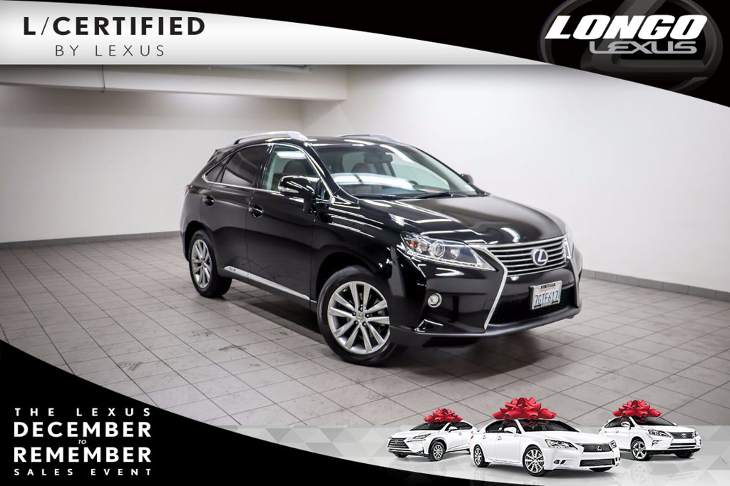 Pre-Owned 2015 Lexus RX 450h AWD 4dr w/ Sport-Apperance Package AWD
