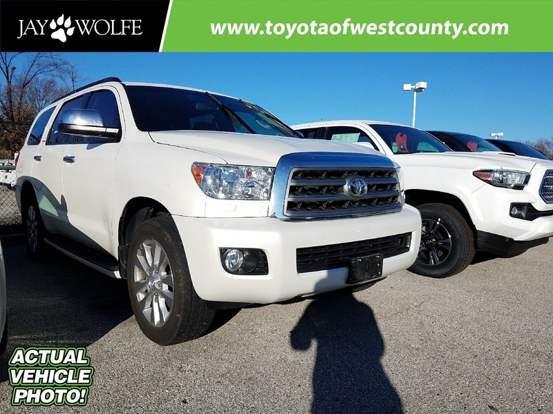 Photo Certified Pre-Owned 2016 TOYOTA Sequoia PLT Four Wheel Drive Sport Utility