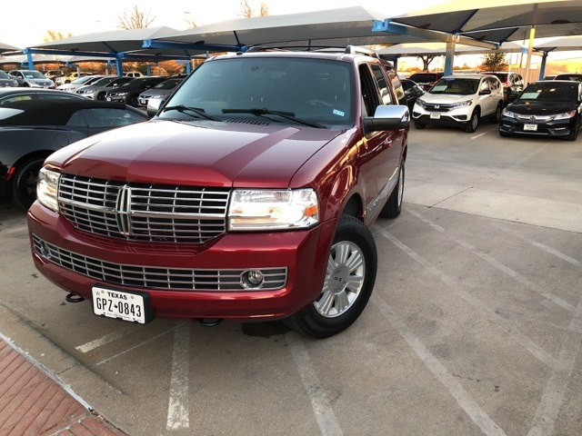 Photo 2014 Lincoln Navigator Base For Sale Near Fort Worth TX  DFW Used Car Dealer