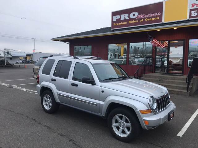 2007 Jeep Liberty Limited 4dr SUV 4WD