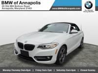 2017 BMW 230i Convertible 230i Convertible Rear-wheel Drive