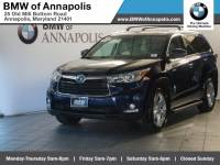 2015 Toyota Highlander Hybrid Limited Platinum SUV All-wheel Drive