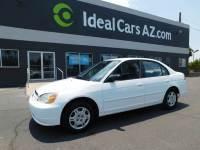 2002 Honda Civic LX 4dr Sedan