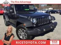 2016 Jeep Wrangler Unlimited Unlimited Rubicon SUV 4x4