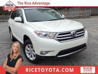 2013 Toyota Highlander Base Plus V6 SUV All-wheel Drive
