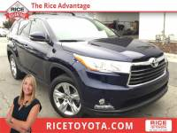 2016 Toyota Highlander Limited SUV Front-wheel Drive