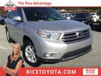 2013 Toyota Highlander SE SUV All-wheel Drive