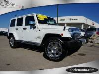 2015 Jeep Wrangler Unlimited Sahara 4x4 SUV For Sale | Greenwood IN