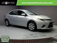 Certified Pre-Owned 2016 TOYOTA COROLLA 4DR SDN CVT LE Front Wheel Drive Sedan