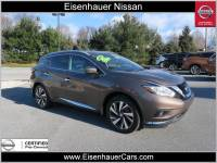 Used 2016 Nissan Murano Platinum SUV Near Reading