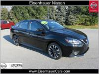 Used 2017 Nissan Sentra SR Sedan Near Reading