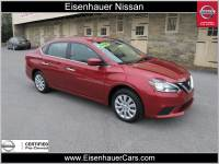 Used 2016 Nissan Sentra SV Sedan Near Reading