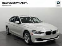 Certified Pre-Owned 2015 BMW 3 Series 4dr Sdn 328i RWD RWD 4dr Car