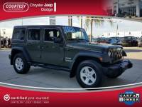 Pre-Owned 2016 Jeep Wrangler Unlimited Unlimited Sport in Jacksonville FL