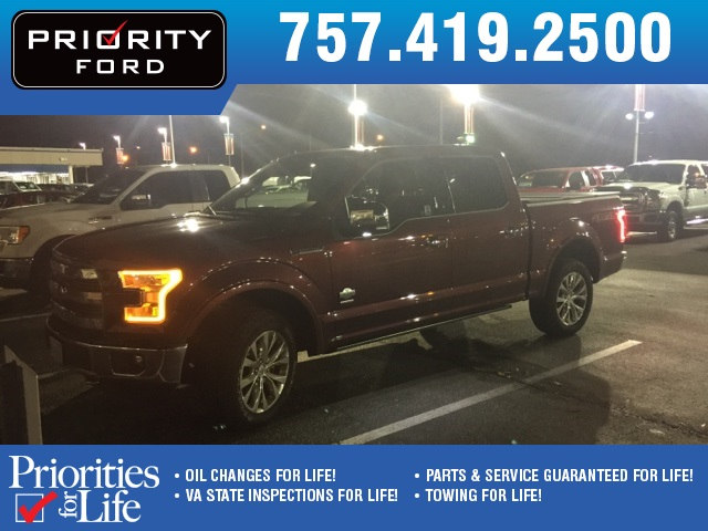 Used 2016 Ford F-150 Truck SuperCrew Cab V-6 cyl For Sale at Priority