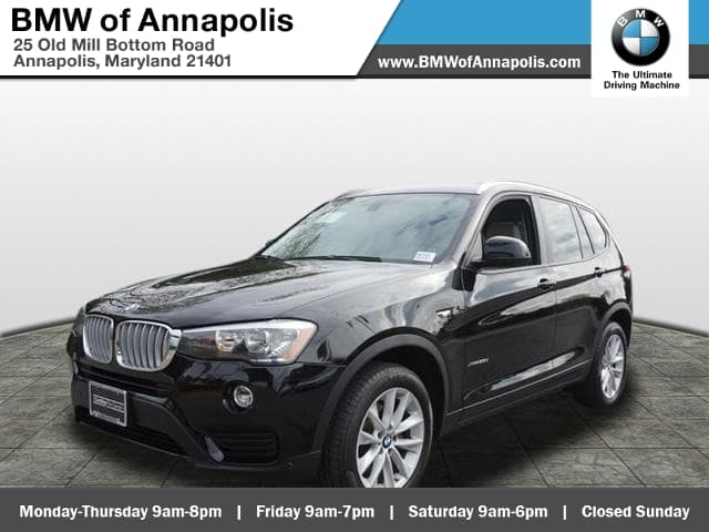 Photo 2015 BMW X3 xDrive28d DIESELNAVLOADEDRARE VEHICLE SAV All-wheel Drive
