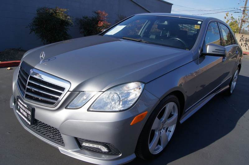 2011 Mercedes-Benz E-Class AWD E 350 Luxury 4MATIC 4dr Sedan