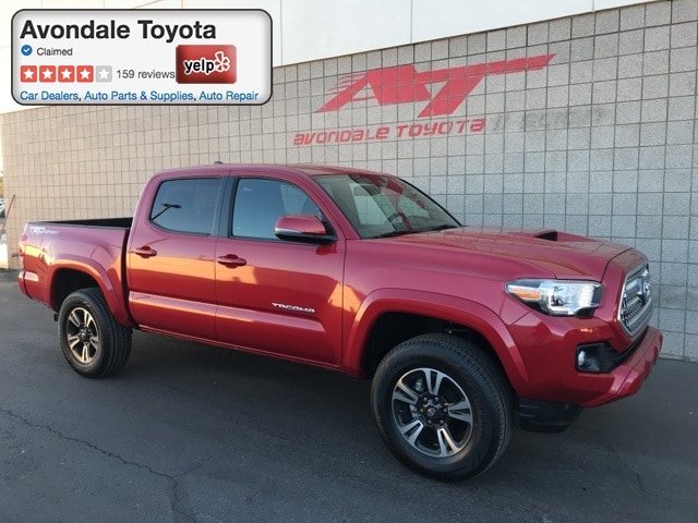 Certified Pre-Owned 2017 Toyota Tacoma TRD Sport V6 Truck Double Cab 4x2 in Avondale, AZ