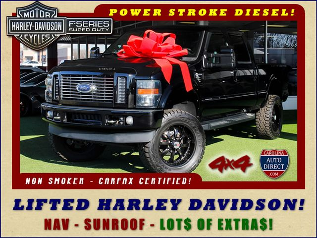 Photo 2010 Ford Super Duty F-250 SRW Harley-Davidson Crew Cab 4x4 - LIFTED - EXTRA