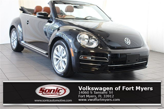 Used 2017 Volkswagen Beetle Convertible 1.8T Classic Auto in Fort Myers