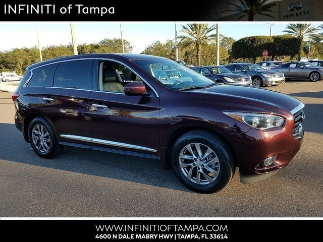 Certified 2014 INFINITI QX60 SUV in Jacksonville FL