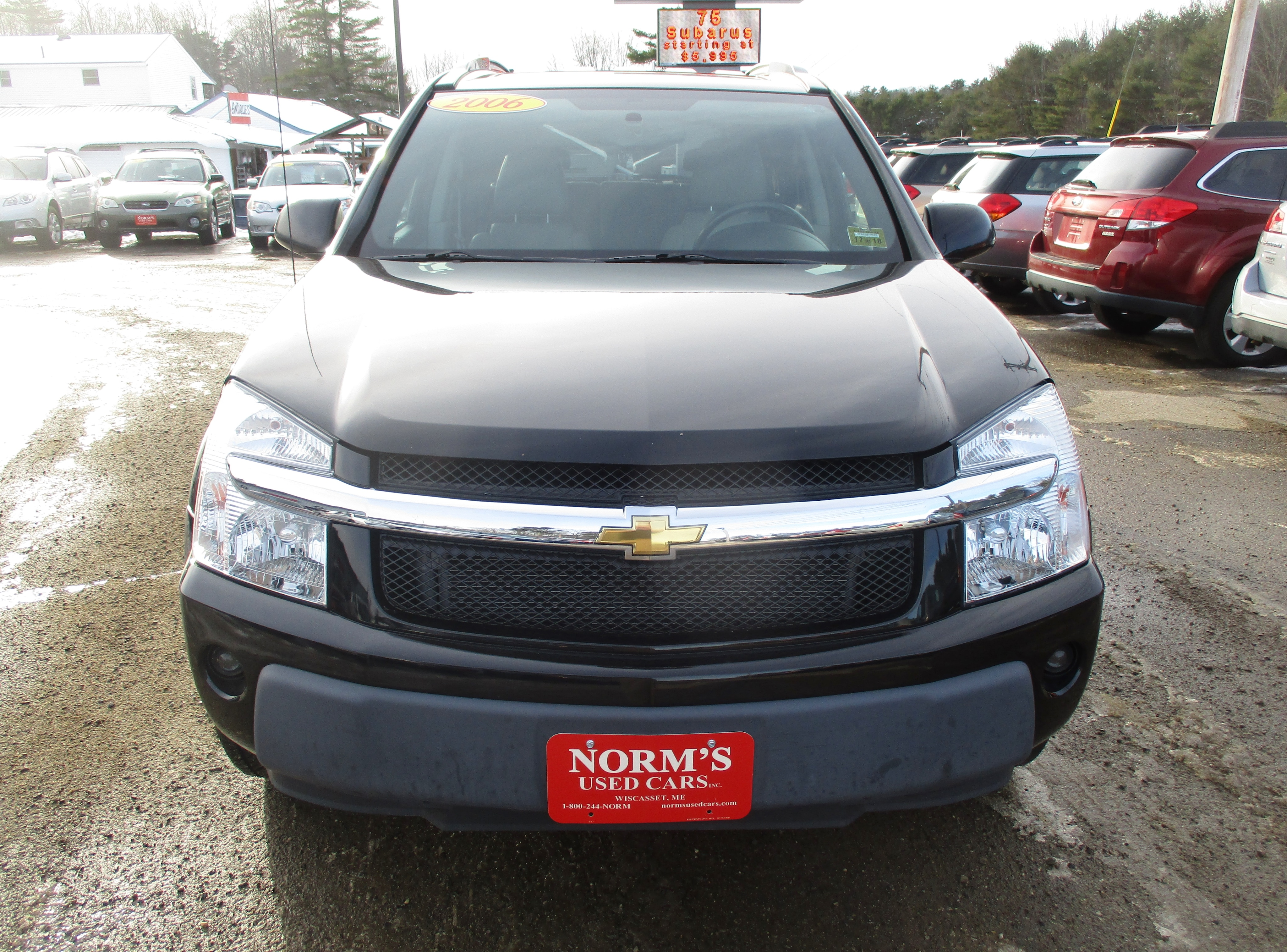 Photo Used 2006 Chevrolet Equinox For Sale  Wiscasset ME