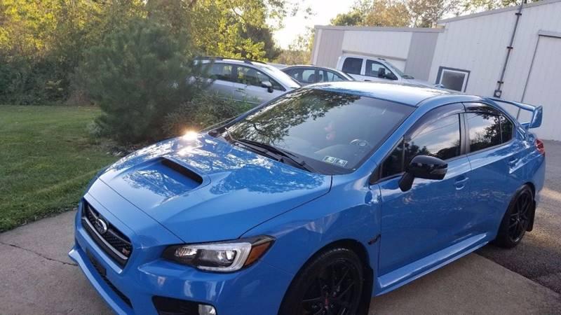 2016 Subaru WRX AWD STI Series.HyperBlue 4dr Sedan