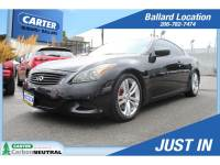 2010 INFINITI G37 2 Dr Coupe x AWD For Sale in Seattle, WA