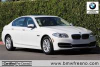 Certified Used 2014 BMW 528i 4dr Sdn 528i RWD Sedan in Fresno, CA