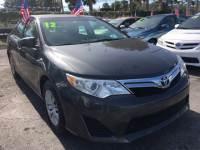 2012 Toyota Camry XLE Sedan for Sale near Fort Lauderdale, Florida