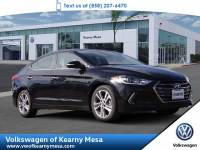 2017 Hyundai Elantra Limited Sedan Front Wheel Drive