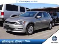 2016 Volkswagen Golf TSI S Hatchback Front Wheel Drive
