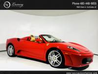 2008 Ferrari 430 Spider | Shields | Daytona Seats | Navigation | 07 06 Rear Wheel Drive Convertible