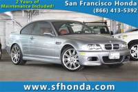 2004 BMW M3 Coupe at San Francisco, Bay Area Used Vehicle Dealer