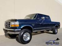 1996 Ford F-250 XLT 4DR CREW CAB SHORTBED 4X4