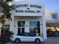 2005 Chrysler Sebring Conv Touring Clean CarFax Leather Suede CD Cruise