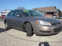 2006 Chevrolet Impala LT 4dr Sedan w/3.5L w/ roof rail curtain delete