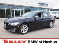 2015 Certified Used BMW 428i xDrive Gran Coupe Jet Black For Sale Manchester NH & Nashua | Stock:B18057A