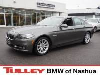 2015 Certified Used BMW 535i Sedan xDrive Callisto Gray For Sale Manchester NH & Nashua | Stock:B18104A