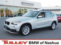 2015 Certified Used BMW X1 SUV xDrive28i Glacier Silver For Sale Manchester NH & Nashua | Stock:PL5695
