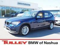 2015 Certified Used BMW X1 SUV xDrive28i Deep Sea Blue For Sale Manchester NH & Nashua | Stock:B171327A