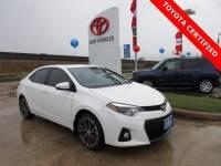 Certified 2015 Toyota Corolla S Plus Sedan FWD For Sale