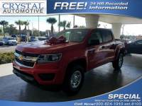 2017 Chevrolet Colorado 4x2 Work Truck 4dr Crew Cab 5 ft. SB