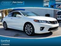Certified 2014 Honda Accord EX-L V-6 Coupe in Jacksonville FL